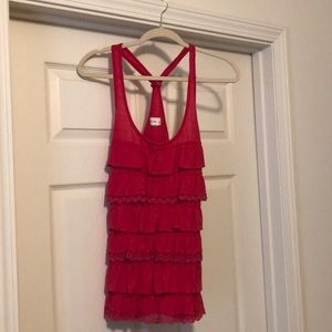 Abercrombie and Fitch laced tank